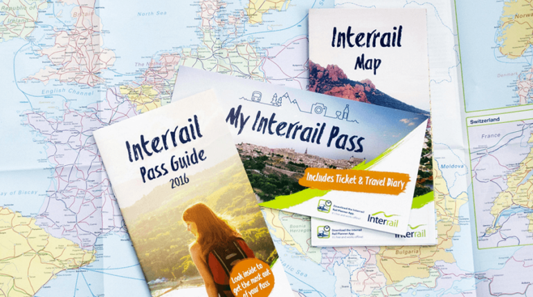 Interrail bileti 2016