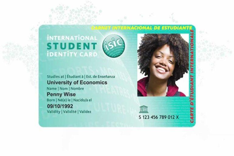 Uluslararası Öğrenci indirim Kartı ISIC