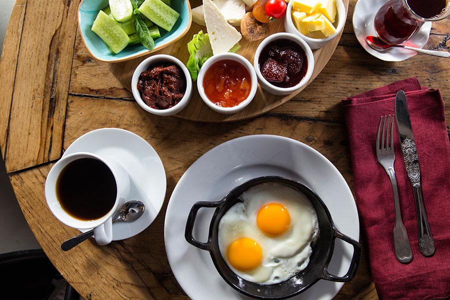 White Mill Cafe kahvaltı