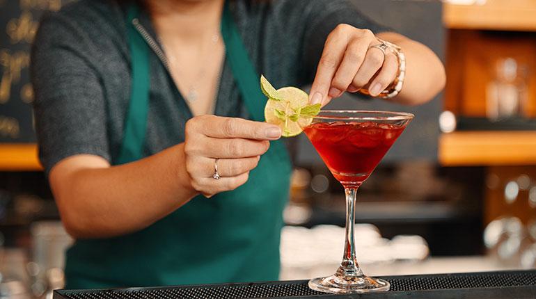 Cherry Margarita Kokteyl