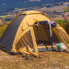 Kamp: Çadır için Tulum veya Şişme Yatak
