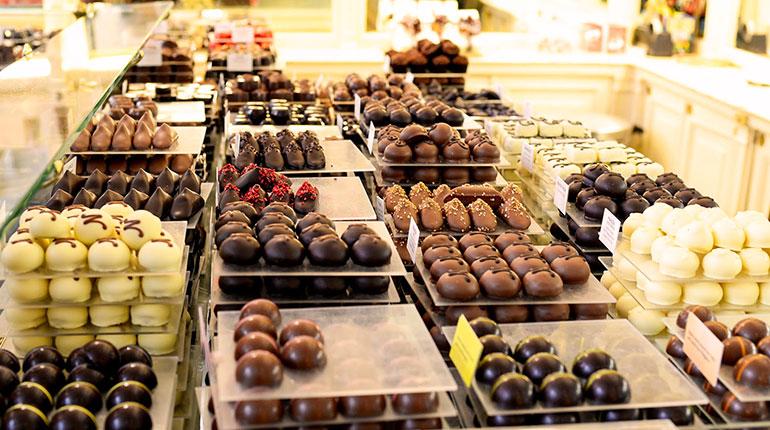 Brüksel, Belçika Çikolatası