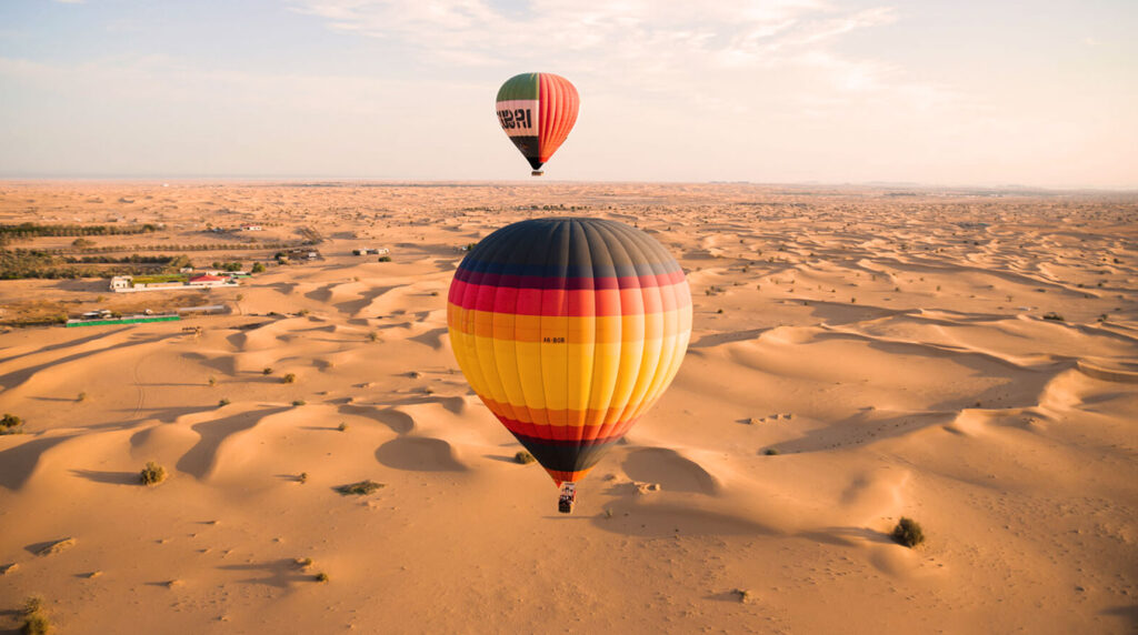 Dubai Sıcak Hava Balonu