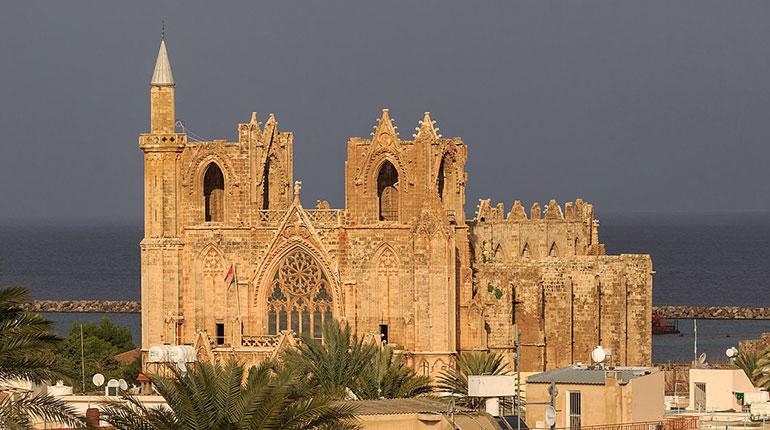 Lala Mustafa Paşa Camii (Aziz Nikolas Katedrali) Gazimağusa