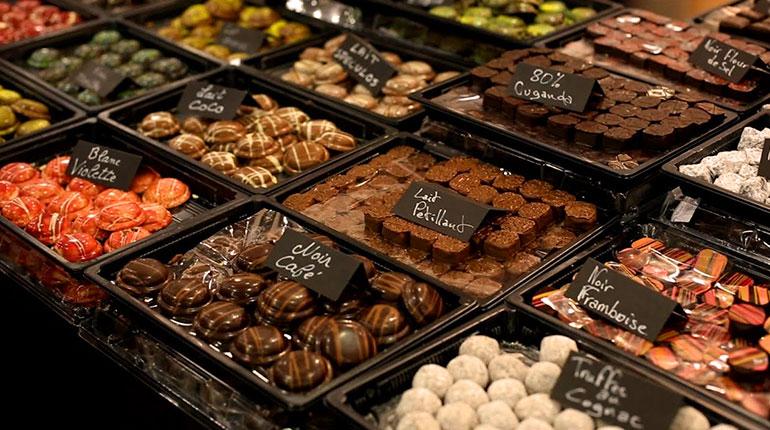 Londra, İngiltere Çikolatası