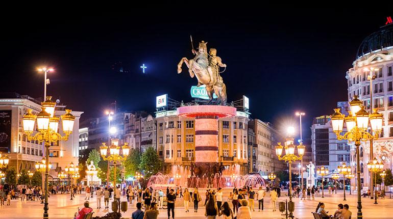 Makedonya – Üsküp