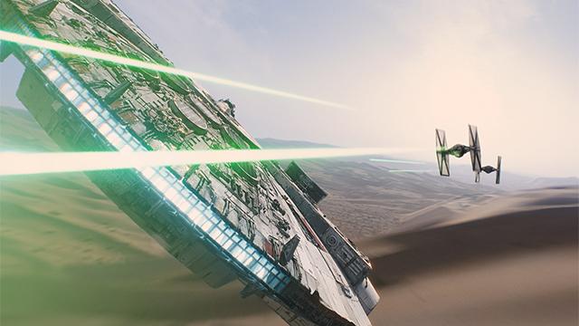 Star Wars Awakening Falcon