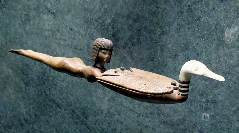 Yüzen Genç Kız, Antik Mısır, M.Ö. 1400-1300