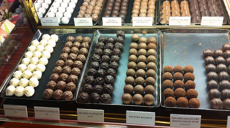 Zürih, İsviçre Çikolatası